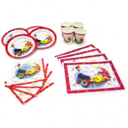 Party Goods - Birthday Party Kit with 7 inch Plates